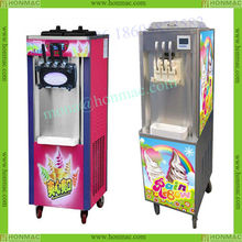 Soft Ice cream maker ice cream cone making machine