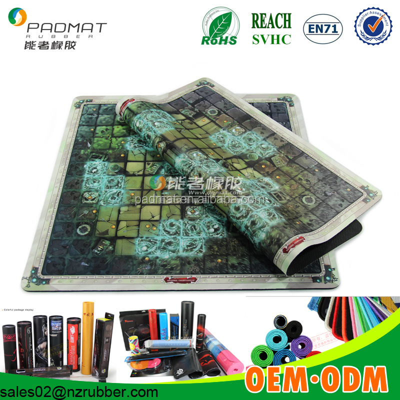 Promotional items Table Board Game Role playing game mat/custom game mats wholesale