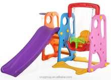Newest small outdoor toys plastic baby slide, kids indoor slide with wholesale price