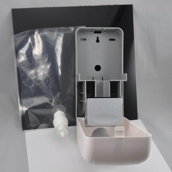 Plastic Bag Refill Liquid Soap Dispenser For Bathroom