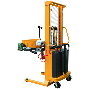 Electric Hydraulic Lifting Drum Tilter (Power Lifting & Single-Stage)