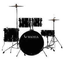 5pcs Royal Blue Ligh Jazz Drum Set ,cotton PVC drum kit,baojia LT-1225