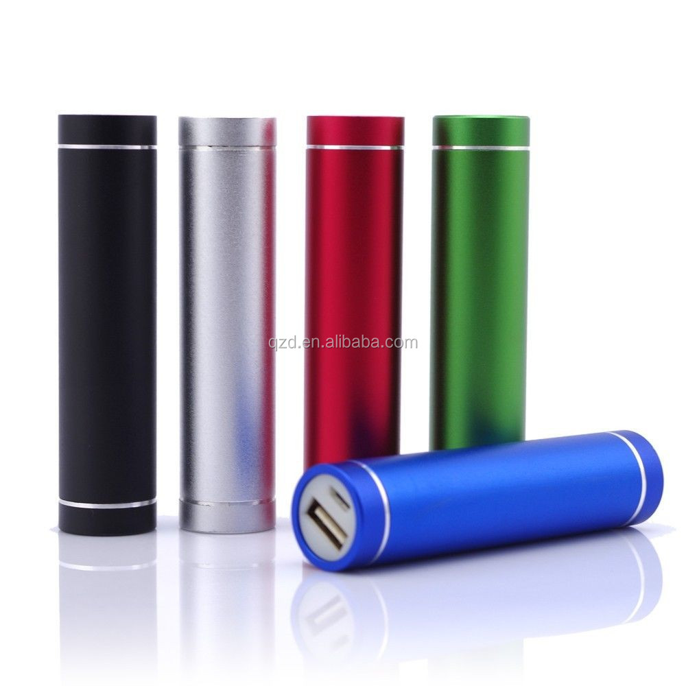 2600mAh Mini Round Power Bank Hippo Charger