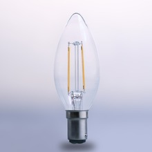 hot sale 2700k warm light c35 c35t 2w 4w e12 e14 B15 led filament candle bulb