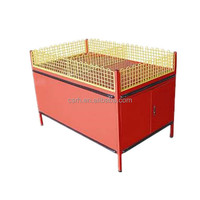 Light Duty Promotion Display Table with wire mesh for supermarket