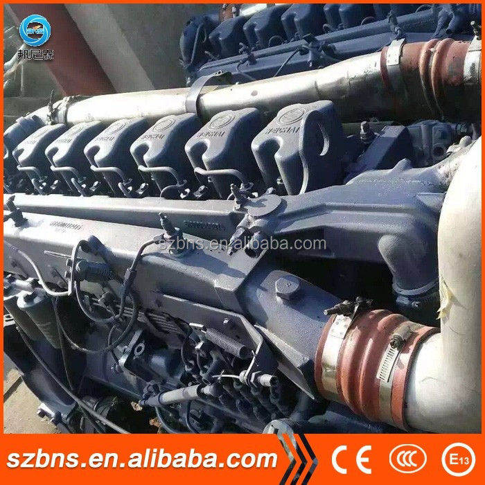 High Performance used diesel engine WP12.375 WP12.400 WP12.430 concrete vibrator with diesel engine