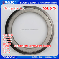 China supplier galvanized spring washer metallic spiral wound gasket seal
