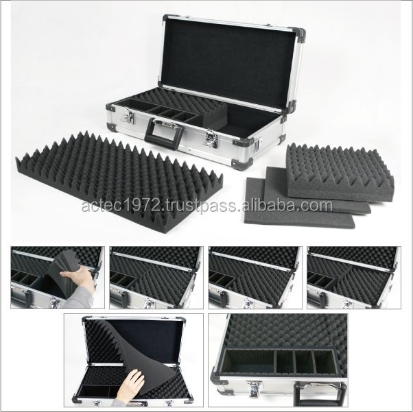 Aluminum case for air and electric soft gun S size for open class powder coating gun parts