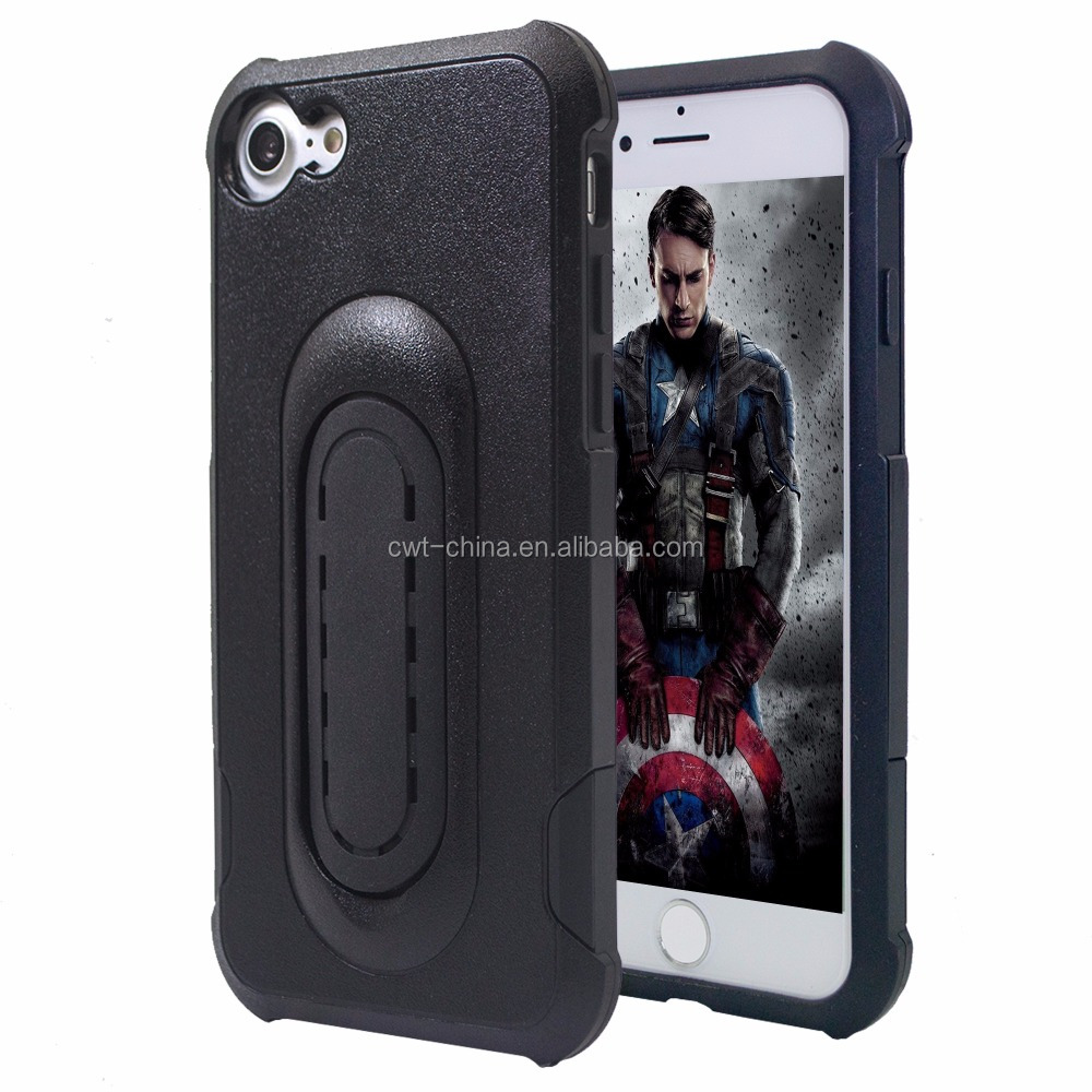 For i phone 7 smartphone kickstand case one hand operation phone case