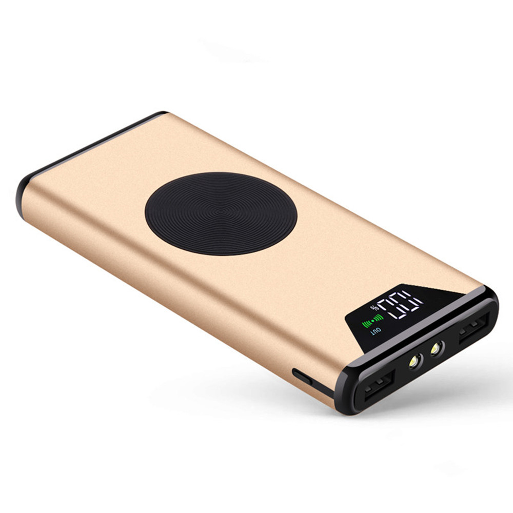 High Capacity Fast Charging 10000mah Polymer Battery Slim Power Bank