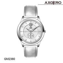 Fashion stainless steel back vogue chronograph watch mens