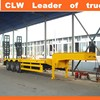20ft Flatbed Semi Trailer Heavy Machine