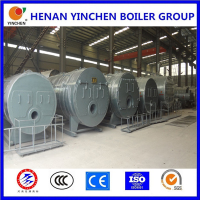 Complete set gas water heating boiler stove and heating mixer boiler