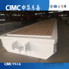 CIMC self propelled module transporter low bed semi trailer