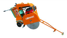 CONMEC Asphalt Cutter Concrete Saw Cutter CC260 with Honda GX690 and 27cm cutting depth