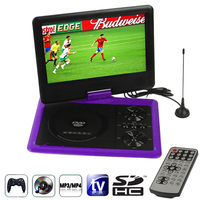 Low Price 9.5 inch TFT LCD Screen Digital Multimedia Portable DVD with Card Reader & USB Port