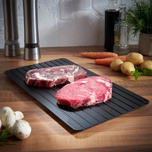 Eco-friendly kitchen equipment rapid defrost tray cheap thawing plate