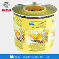 High Quality Aseptic Plastic Snack Food Packaging Film For Snack Food