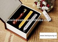 High quality paraffin wax sticks and seal stamp set with box wedding invitations