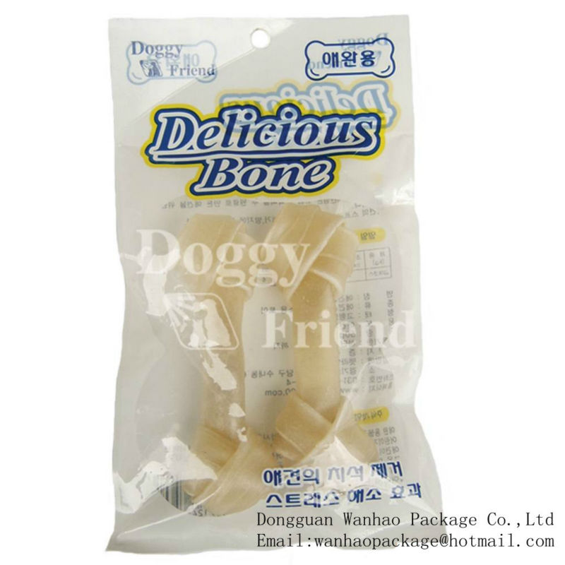 Dog food packaging container / dog treat packaging