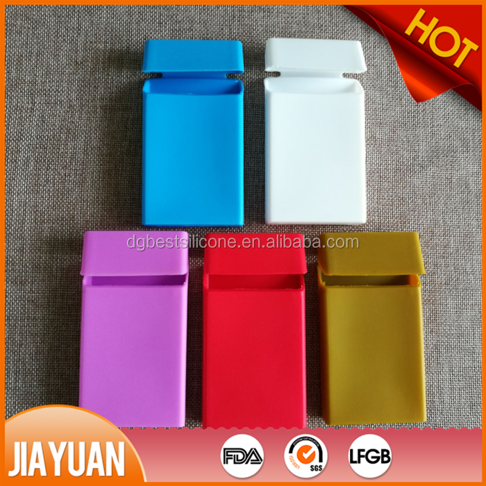 2016 new Fashion silicone cigarette box silicone pack cover