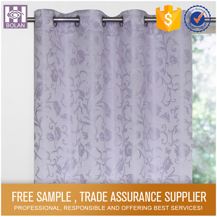 Polyester Jacquard Finished photo print curtains