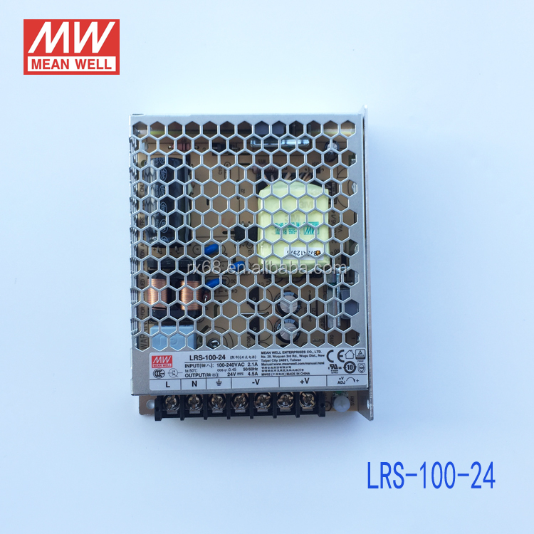 Meanwell SMPS Power Supply 24V 100W 4.5A LRS-100-24