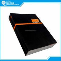 Hot sale well designed perfect binding catalog