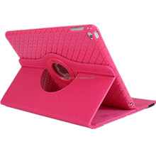 For 360 degree rotating for ipad air case with card slot and Smart Cover Wake/Sleep Function