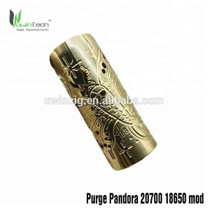 Purge pandora mod/SOB Legend kit/Vgod Resin kit all 1:1clone from Uwintech factory price