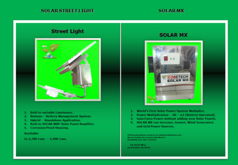 SOLAR STREET LIGHT & SOLAR MX