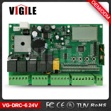 24V Automatic Swing Gate / Sliding Gate Motor Controller, PCB Remote Control Board For Swing Door