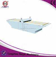 semi automatic flat bed die cutting machine used for carton