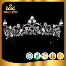 Wedding Bridal Comb Tiara Crown with Rhinestone for Pageant Prom Crystal Hair Headband