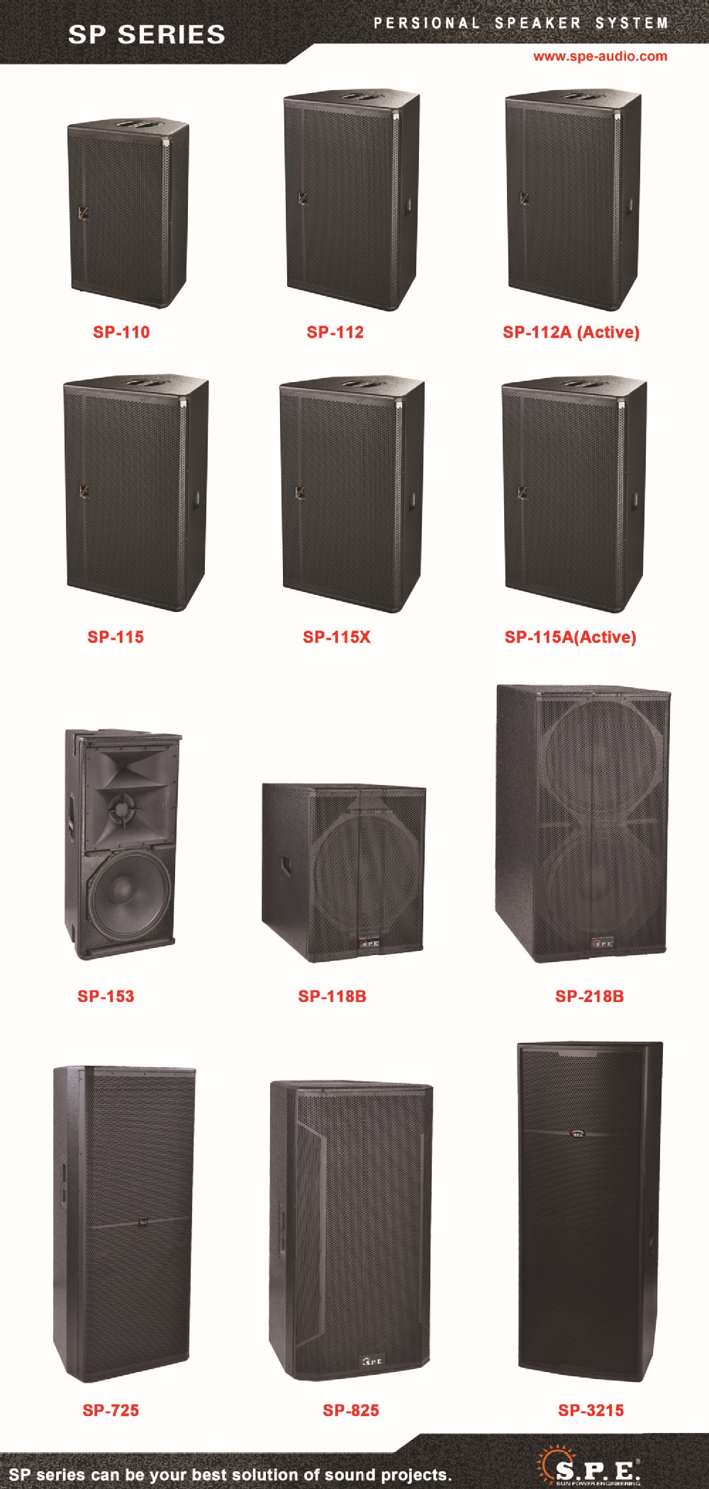 SPE Audio 1600W RMS Powered Dual 18 inch Subwoofer Box SP-218B