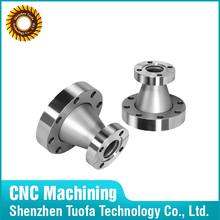 Custom stainless steel taper reducers by CNC machining