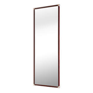 classic design wall-mounted dressing mirror with 3way slide .