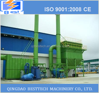 Dust system used in plant , Pulse dust extraction system