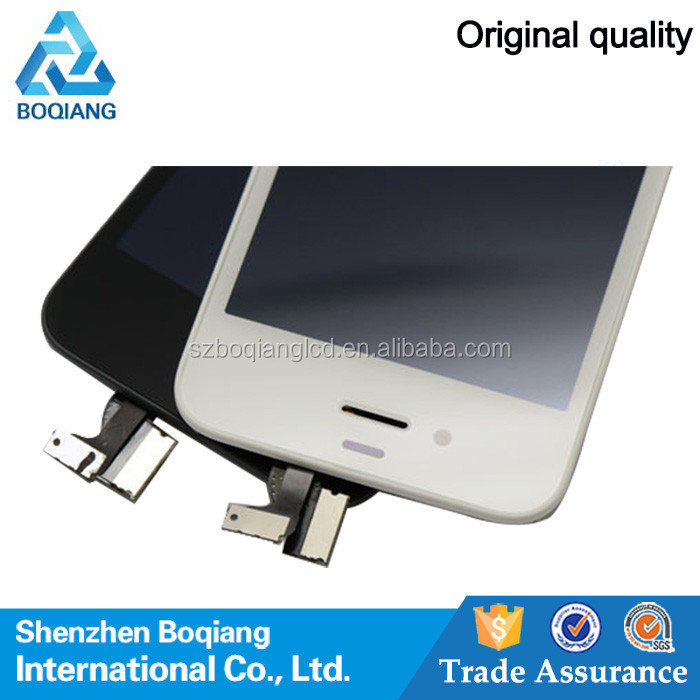 cell phone wholesale lcd for iphone 4s touch screen assemble with digitizer for iphone 4s