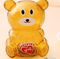 plastic novelty piggy bank, make your own piggy banks, personalized plastic coin bank