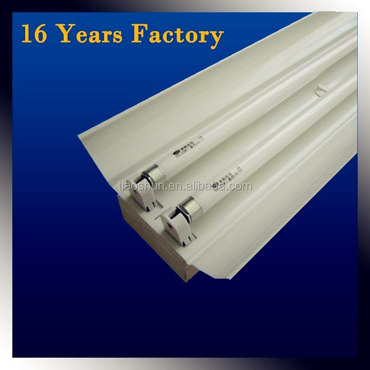 Manufacture G5 base LED Tube T5 T8 lamp fluorescent batten and bracket fitting