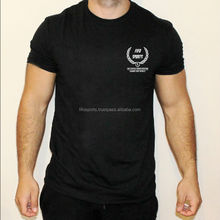 Mens POLY Training Top DRY Performance Running Gym WeightsT-shirt Anti Sweat