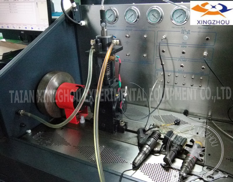 CRS708 6 cylinders diesel common rail injector pump test bench EUI EUP HEUI stand