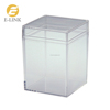 Transparent Cubic PS Plastic Clear Small Packaging Gift Box