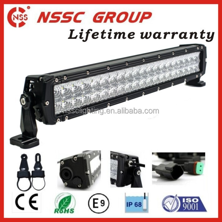 Flood/Spot/Combo Beam CREE LED light bar LED off road light 120W 20inch for SUV,UTV, ATVs, 4x4 truck, engineering vehicles