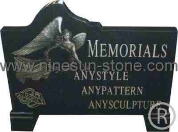 Black European Tombstone