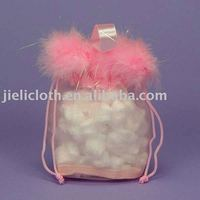 Feather organza bag