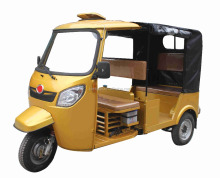 Bajaj Style 175cc Three Wheel Gasoline Motorcycle / 3 Wheel 9 Seater Motorized Tricycle
