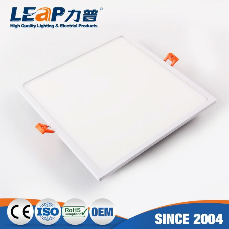 3w square flat led panel ceiling lighting