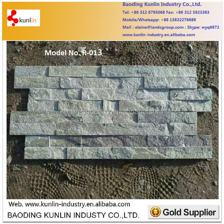 Slate Type natural thin stone veneer